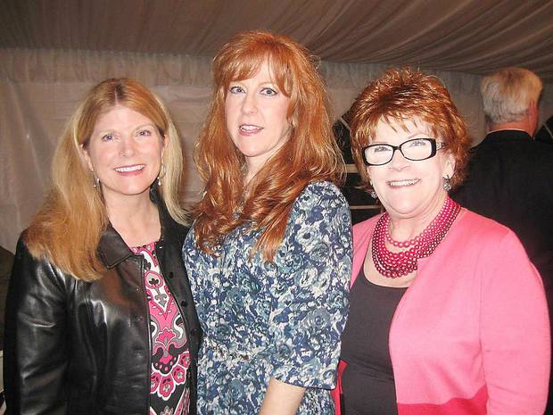 Suzanne Symcox, Sherry Stupka, Linda Hodges. PHOTO PROVIDED