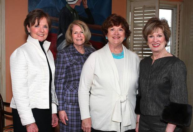 Karen Luke, Kathy Walker, Karen Browne, Carol Troy.	PHOTO BY DAVID FAYTINGER,  FOR THE OKLAHOMAN		ORG XMIT: 0902061422535661