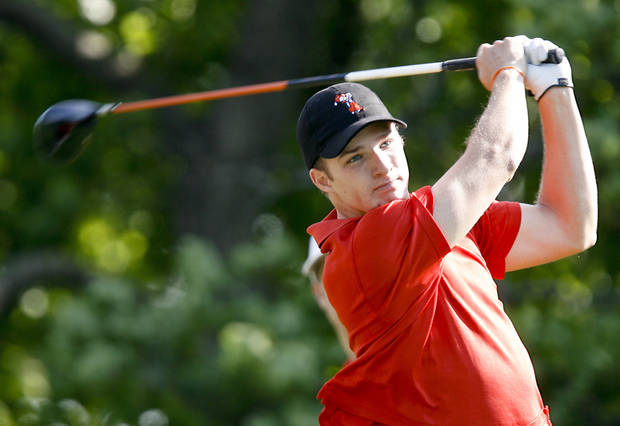 Oklahoma State's Morgan Hoffmann is ranked as the top college golfer in the country. Photo by Chris Landsberger, The OKlahoman