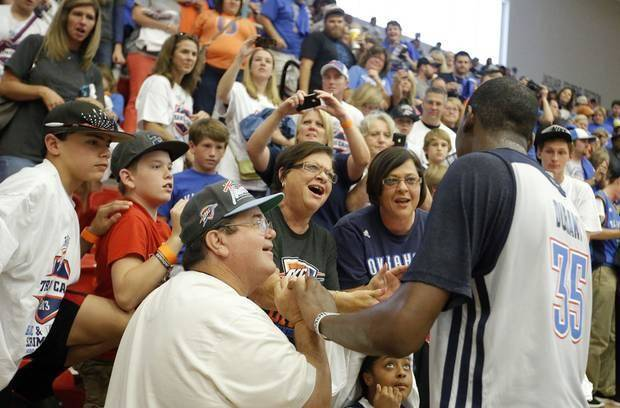 Observations from the Thunder's scrimmage