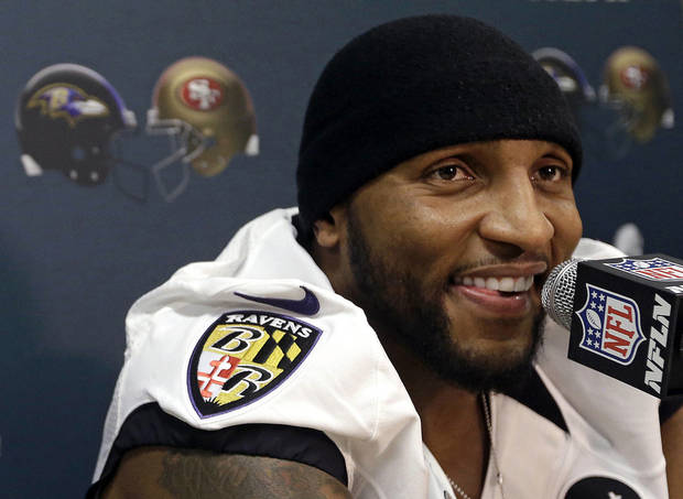 Ray Lewis, Baltimore�s defensive standout and possible future Hall of Famer, is so outspoken about his Christian faith that Sports Illustrated dubbed him �God�s Linebacker� in a 2006 cover story.