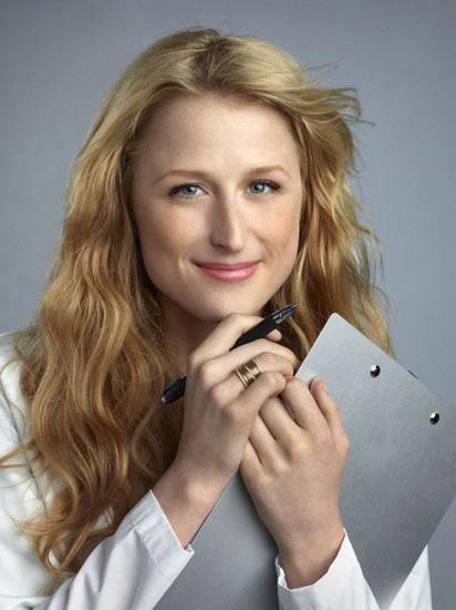 "Pictured: Mamie Gummer as Emily Owens in ""Emily Owens, M.D."" on The CW Photo: Nino Munoz/The CW ©2012 The CW Network, LLC.  All rights reserved."