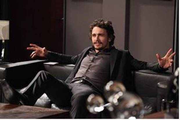 "James Franco in ""Hollywood Heights"" -  Nickelodeon Photo"