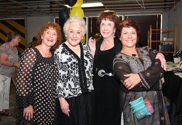 Jane Hall, Donna Mackie, Laurel Jaworsky and Doobie Potter attend a Carpenter Square Theatre Benefit.
