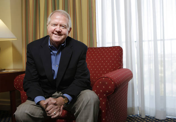 Archie Dunham, Chesapeake Energy Corp.'s new chairman, discusses his 27-year history as a director at some of the largest companies in the country during a conversation with The Oklahoman on Sunday afternoon. <strong>SARAH PHIPPS - Photo by Sarah Phipps, The Oklah</strong>