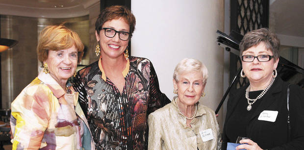 Kay Goebel, Leigh Ann Albers, Ann Flesher, Nancy Flesher.  PHOTO BY DAVID FAYTINGER, FOR THE OKLAHOMAN