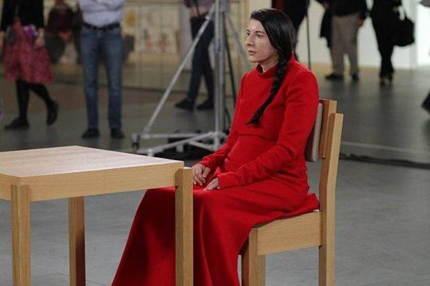 Marina Abramovic at MOMA
