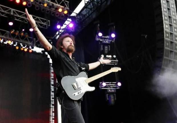 Ronnie Dunn performs at the July 6 OK Twister Relief Concert. Photo by Nate Billings, The Oklahoman Archive