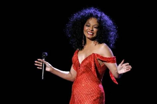 Diana Ross performed at Madison Square Garden. (AP Photo by Jason DeCrow)