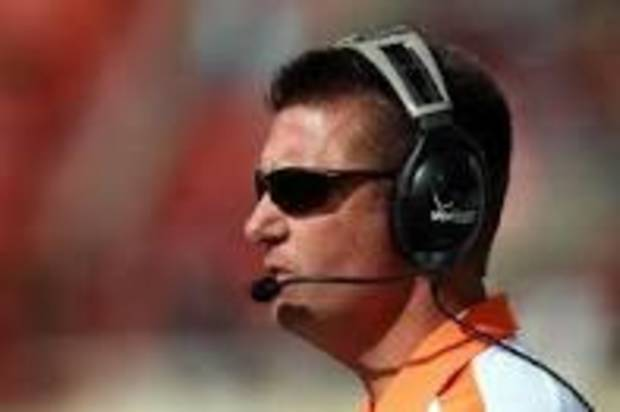 Mike Gundy is mic'd up and ready to go in this 2012 football season.