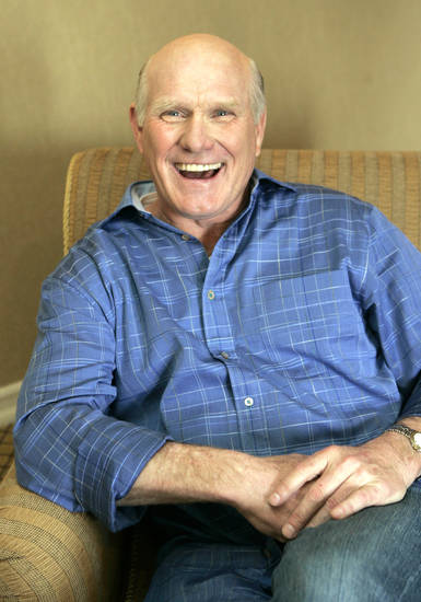 Terry Bradshaw and the 'Fox NFL Sunday' crew are going to Afghanistan. AP photo