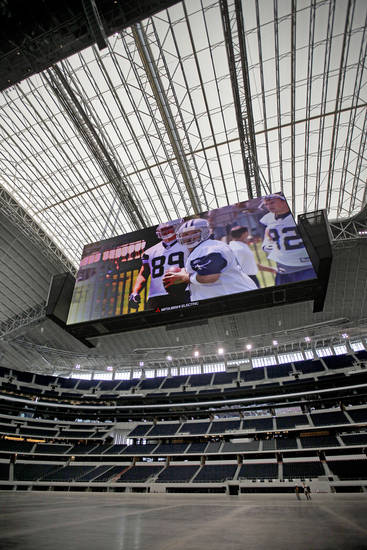he Cowboys Stadium in Arlington, Texas, on Tuesday, July 28, 2009. Photo by Bryan Terry, The Oklahoman