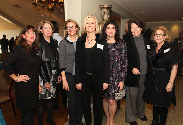 Wendi Foltz, Peggy Duncan, Leslie Hudson, Jane Webb, Kathryn Cox, Carleen Burger, Diana Robinson. PHOTO BY DAVID FAYTINGER, FOR THE OKLAHOMAN. <strong></strong>
