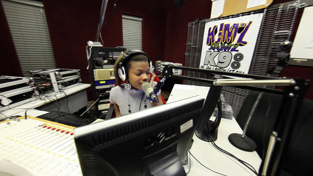 Lawton resident Tanisha Atkins is a DJ at KMJZ-FM