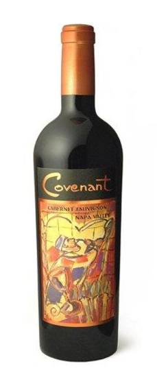 This undated publicity product photo provided by courtesy of Covenant Wines shows a bottle of Cabernet Sauvignon from Covenant Wines vineyard in Napa Valley, Calif. (AP Photo/Courtesy Covenant Wines)