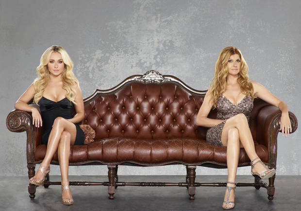 �Nashville,� which stars Hayden Panettiere, left, and Connie Britton, premieres at 9 p.m. Wednesday on ABC. ABC PHOTO