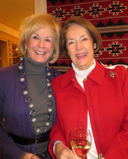 Linda Rodgers, Marilyn Meade. PHOTO BY HELEN FORD WALLACE, THE OKLAHOMAN