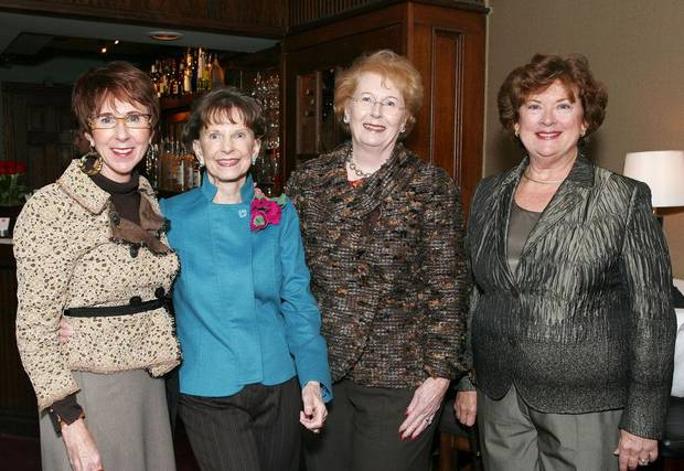 Annie Bohanon, Beth Tolbert, Lil Ross, Karen Browne.	BY DAVID FAYTINGER, FOR THE OKLAHOMAN