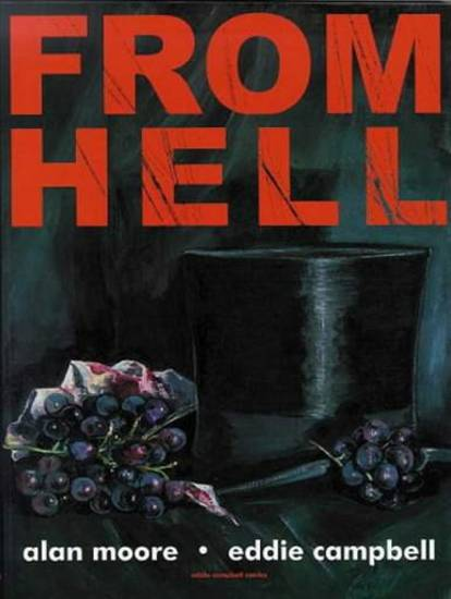 From Hell graphic novel, Eddie Campbell and Alan Moore