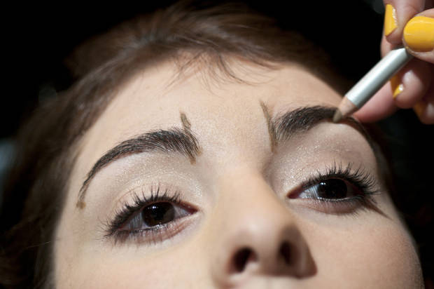 Full and shapely brows are back. A few tips to create the look include measuring to achieve ideal proportions. (MCT)