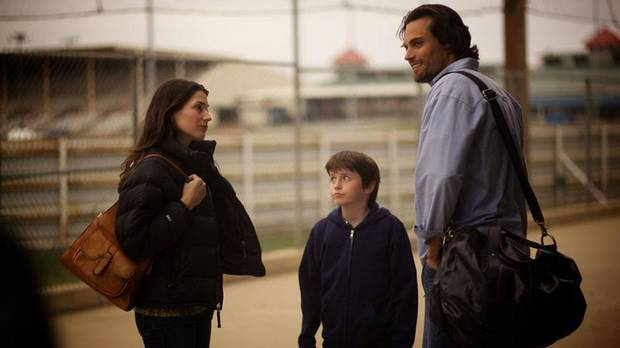 "From left, Dorian Brown, Charles Henry Wyson and Scott Elrod appear in a scene from the faith-based baseball drama ""Home Run."" The movie was filmed in Okmulgee and Tulsa in 2011. Samuel Goldwyn Films photo <strong></strong>"