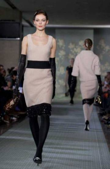 Tory Burch fall 2012 collection shown during New York Fashion Week. AP PHOTO