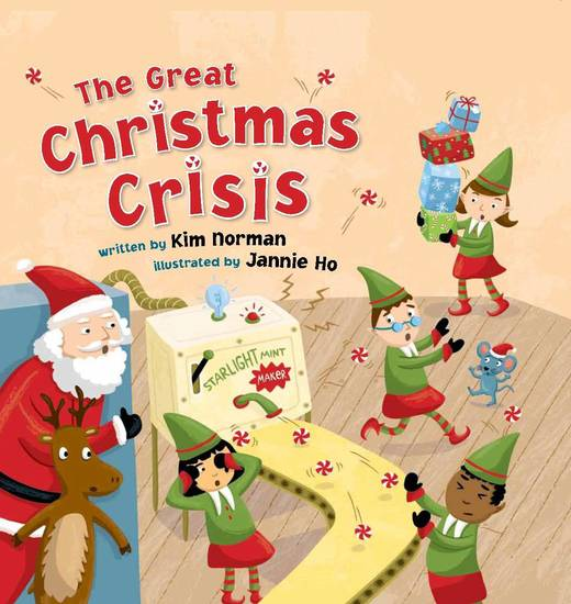 �The Great Christmas Crisis� written by Kim Norman and illustrated by Jannie Ho.
