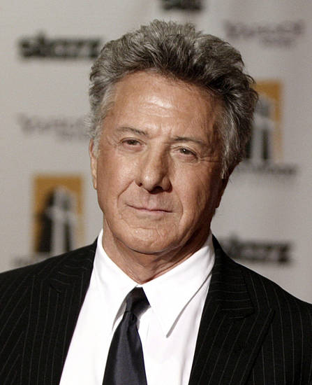 Actor Dustin Hoffman arrives at  the Hollywood Awards Gala in Beverly Hills, Calif., on Monday Oct. 27, 2008. (AP Photo/ Matt Sayles) ORG XMIT: CADC118