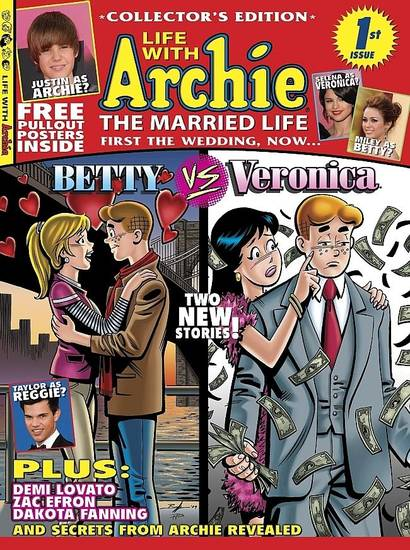 "The first issue of ""Life With Archie: The Married Life."""