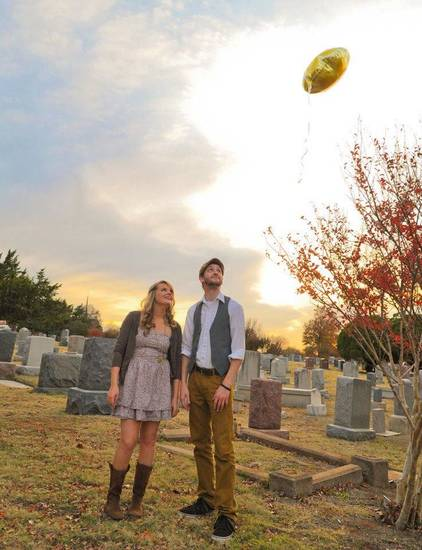 Oklahoma City indie folk duo O Fidelis, which consists of husband-and-wife musicians Laney and Brian Gililland, will play Tuesday at the Festival of the Arts in downtown Oklahoma City. Photo provided. <strong></strong>