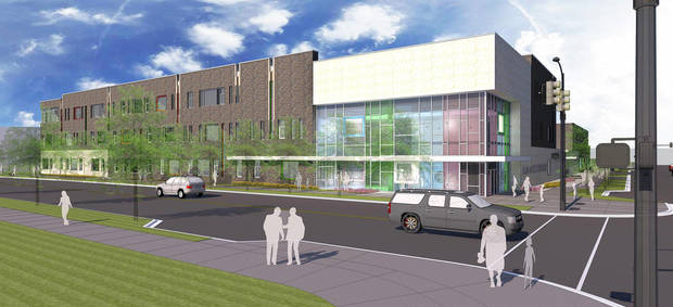 Revised designs for the future downtown elementary were approved Wednesday by the Oklahoma City Urban Renewal Authority.