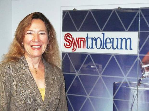 Karen Gallagher Senior vice president and principal financial officer of Syntroleum Corp. in Tulsa.