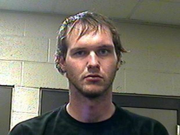 Michael Preston Choate, 24, was arrested Monday night in connection to a homicide in Pottawatomie County. <strong></strong>