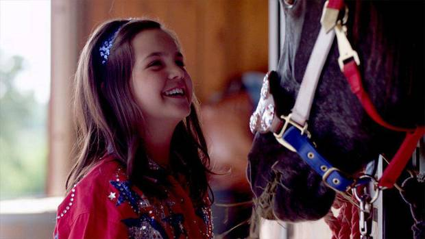 "Bailee Madison stars in the Oklahoma-made film ""Cowgirls N' Angels."" Samuel Goldwyn Films photo. <strong></strong>"
