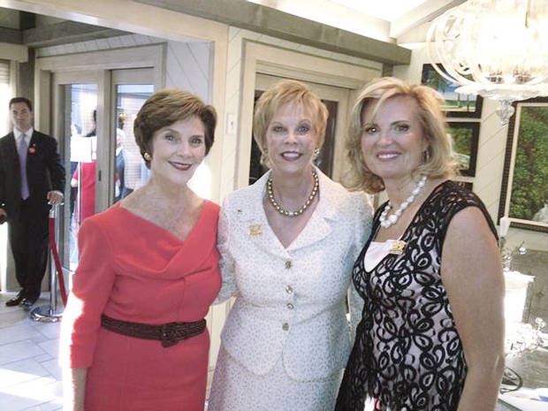 Laura Bush, Terry Neese, Ann Romney. PHOTO PROVIDED