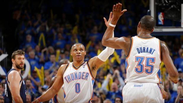Five observations from the Thunder's 100-86 series-opening win …