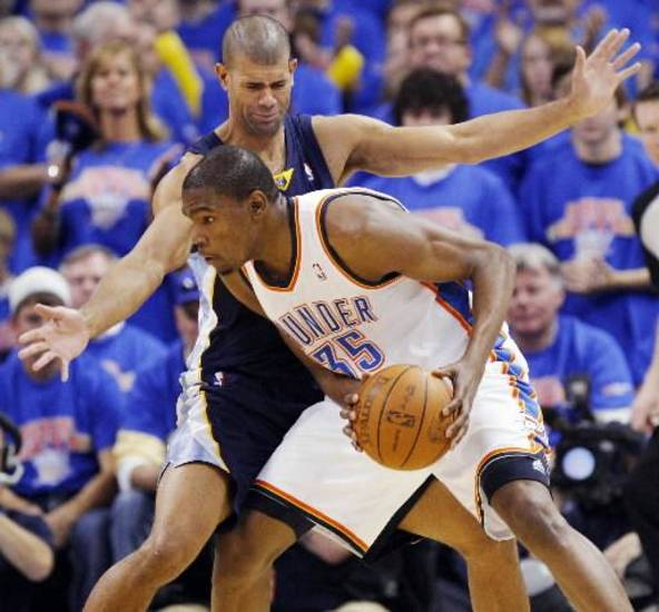 It doesn't appear likely that Kevin Durant will be able to escape Shane Battier's smothering defense this season.