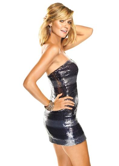 Heidi Klum looks amazing in December's Self Magazine.