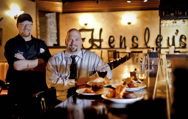 Executive chef David Sullivan and general manager Stephen Stavinoha will host a special New Year&#039;s Eve party at Hensley&#039;s Top Shelf Grill in Yukon. &lt;strong&gt;CHRIS LANDSBERGER - CHRIS LANDSBERGER&lt;/strong&gt;