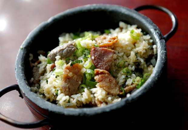 Arroz Gaucho at Cafe Do Brazil in Oklahoma City. Photo by Bryan Terry, The Oklahoman <strong>BRYAN TERRY - THE OKLAHOMAN</strong>
