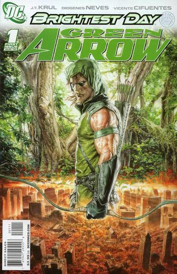 Green Arrow #1, written by J.T. Krul