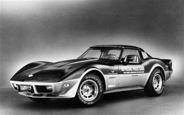 This is a limited edition Chevy Corvette, Indy Pace Car, 1978. (AP Photo)