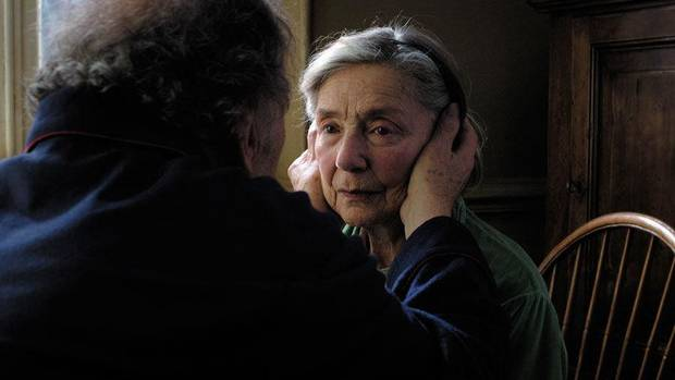 "From left, Jean-Louis Trintignant and Emmanuelle Riva star in ""Amour."" Sony Pictures Classics photo <strong></strong>"