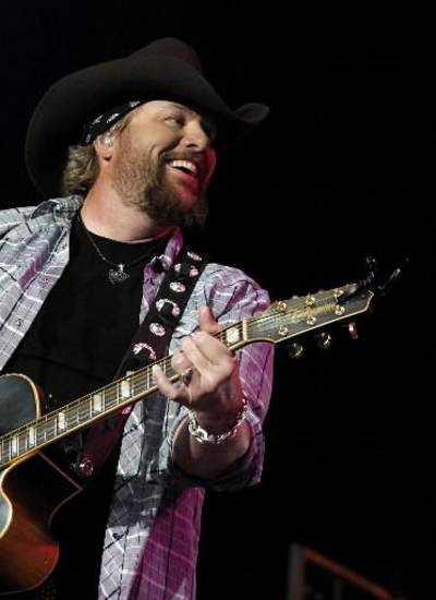 Toby Keith (AP file photo)