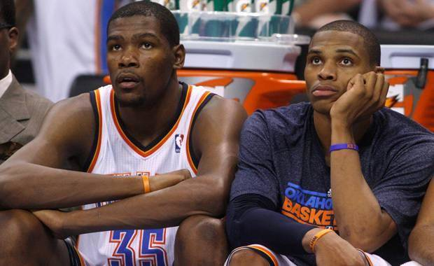 Russell Westbrook attending Thunder practices