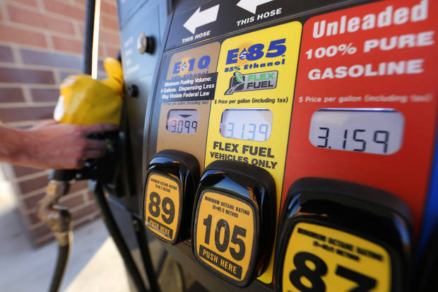 Stillwater-based OnCue Express sells a variety of gasoline blends, including the recently approved 15-percent ethanol blend known as E15. Photo By Steve Gooch, The Oklahoman <strong>Steve Gooch</strong>