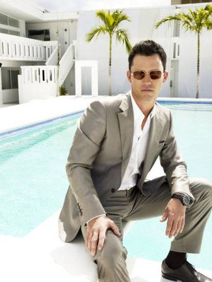 BURN NOTICE -- Pictured: Jeffrey Donovan as Michael Westen -- USA Network Photo: Joe Pugliese