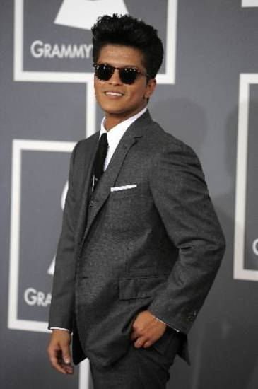 Bruno Mars (AP file)