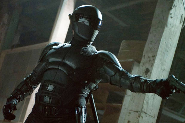 "Snake Eyes in ""G.I. Joe: Retaliation."""