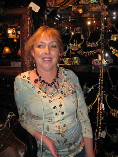 Jewelry designer JoAnne Brooks